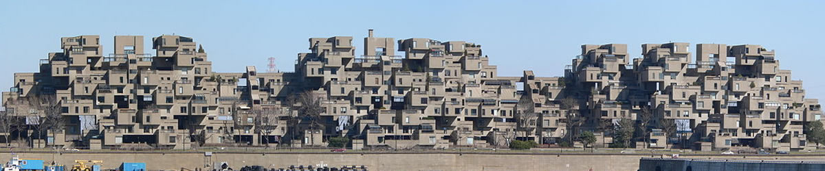 Habitat 67, 1967 World's Fair, Montreal, Quebec_1