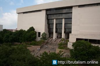 Alkek Library, Texas State University, San Marcos, Texas_1