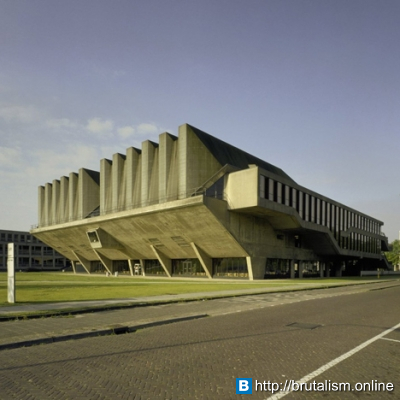 Auditorium Building, Delft University of Technology, Delft, The Netherlands