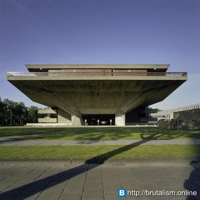 Auditorium Building, Delft University of Technology, Delft, The Netherlands