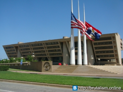 Dallas City Hall, Dallas, Texas, USA