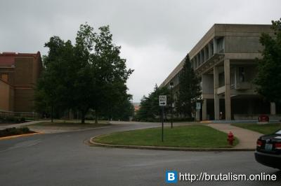Faner Hall, Southern Illinois University, Carbondale, IL_2