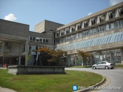 Faner Hall, Southern Illinois University, Carbondale, IL_3