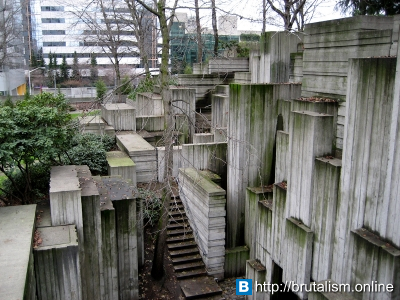 Freeway Park, Seattle, Washington_1