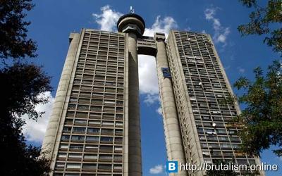 Genex Tower, Belgrade, Serbia_3