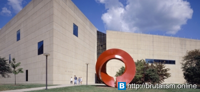 Indiana University Art Museum, I.M. Pei, Bloomington, Indiana_1