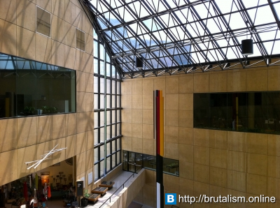 Indiana University Art Museum, I.M. Pei, Bloomington, Indiana_2