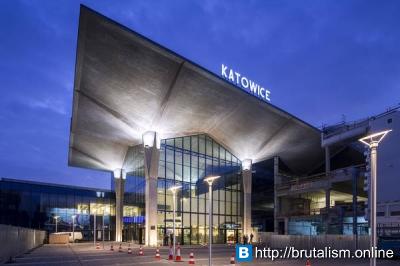 Katowice railway station, Katowice, Poland_1