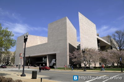 National Gallery of Art, East Building, Washington DC, USA