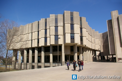 Northwestern University Library, Evanston, Illinois_1