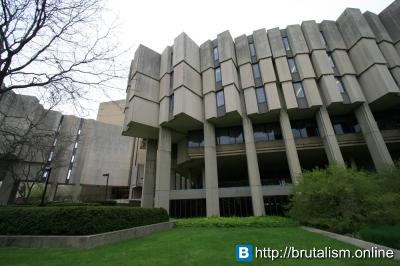 Northwestern University Library, Evanston, Illinois_1