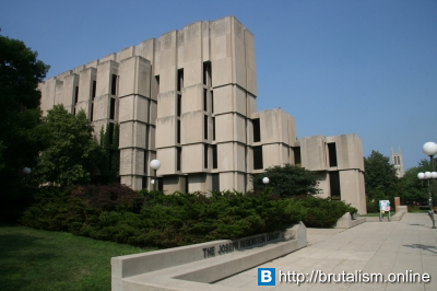 Regenstein Library, University of Chicago, Illinois_2