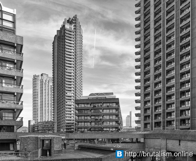 The Barbican Estate, London_1