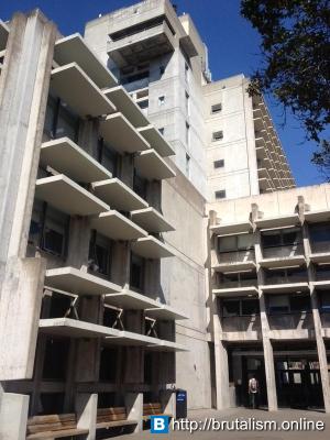 Wurster Hall, College of Environmental Design, University of California, Berkeley, CA