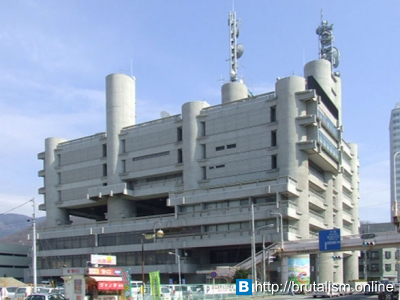 Yamanashi press and broadcasting centre, Kofu, Japan