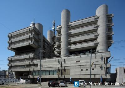 Yamanashi press and broadcasting centre, Kofu, Japan